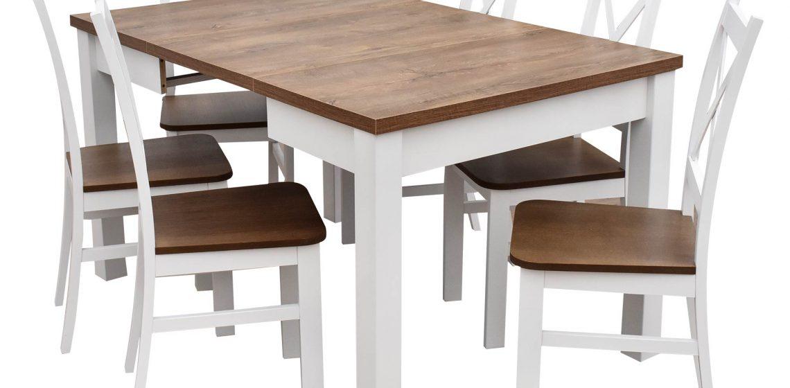 Stół-rozkładany-z-krzesłami-do-jadalni